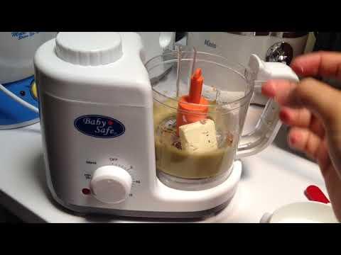 Mp asi salmon kale kentang creamy menggunakan food processor babysafe