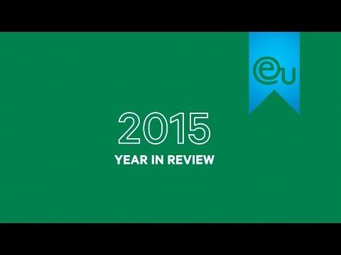 A Year In Review: 2015 - EU Business School Barcelona | Geneva | Munich | Montreux