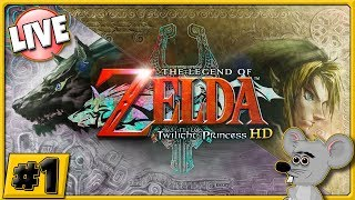 OUR JOURNEY BEGINS - Zelda: Twilight Princess HD Remaster on Wii-U - LIVE STREAM