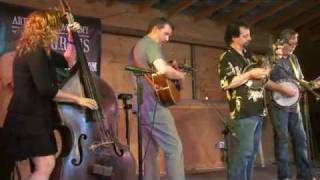 Tony Trischka, Mike Marshall, Bryan Sutton, Darol Anger & Missy Raines at RockGrass 2011