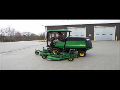 2013 John Deere 1600 Turbo Series II Wide Area Mower For Sale No Reserve Auction February 7 2017