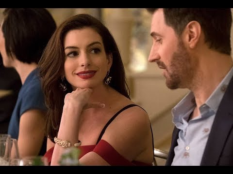 Claude & Daphne  Oceans 8 2018  Flirting, Kissing Anne Hathaway & Richard Armitage