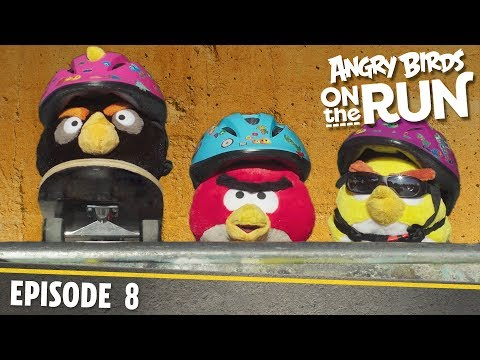Angry Birds on The Run | Skate Board Mission - S1 Ep8