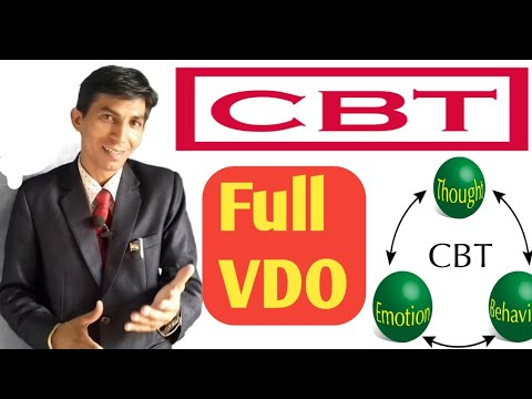 CBT- Cognitive behavior Therapy || Full training video | How to apply on OCD Depression and anxiety