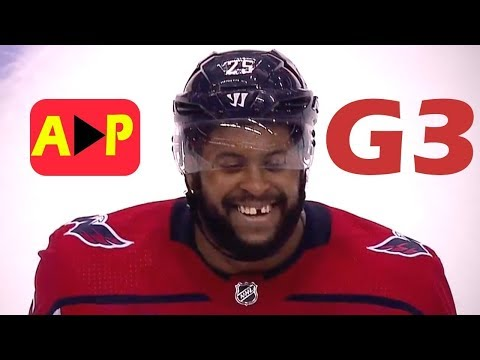Vegas Golden Knights vs Washington Capitals. NHL Stanley Cup Final. Game 3. June 2nd, 2018. (HD)