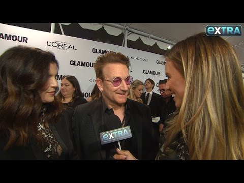 Bono on His 40th Anniversary & His Glamour Women of the Year Honor