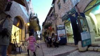 Цфат. Квартал художников.(Полная версия про квартал художников в Цфате (Израиль), 2014-11-06T10:26:52.000Z)
