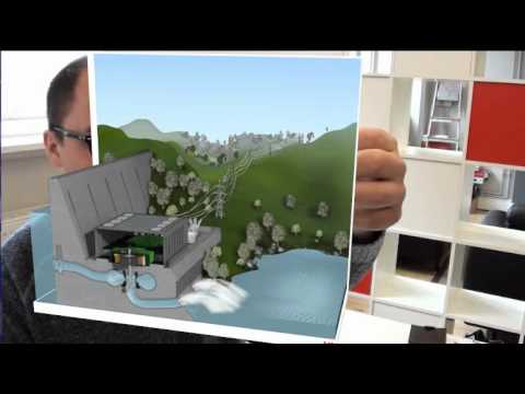 Augmented Reality - Hydro-Energy System Demo