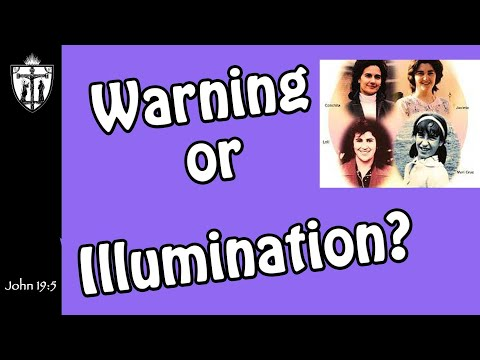 Warning or Illumination? Lent of 2020 or 2021?