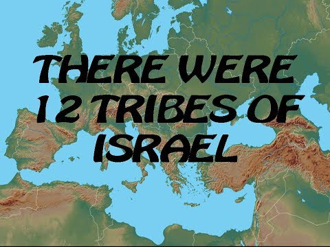 THERE WERE 12 TRIBES OF ISRAEL