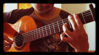 Sakura Ikimonogakari - Acoustic Guitar Solo