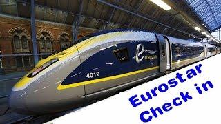 Eurostar: Check in