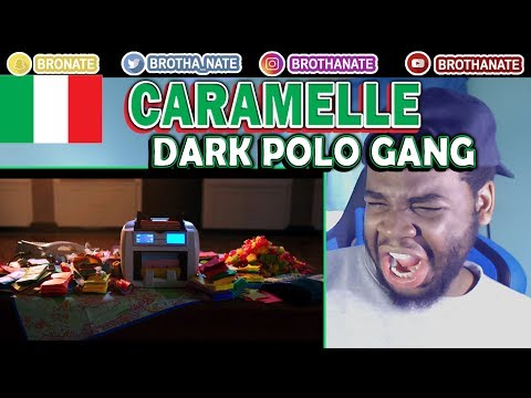 DARK POLO GANG - CARAMELLE Feat. MARÏNA REACTION!!