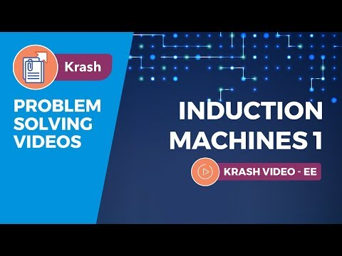 GATE (EE) - Induction Machines 1 (Electrical Machines) - Krash - Problem Solving