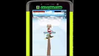 Extreme Air Snowboarding 3D Java Mobile Game