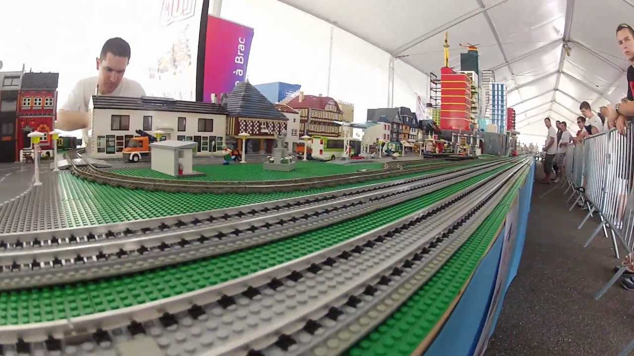 lego jeux prototypes train on the lgv youtube. Black Bedroom Furniture Sets. Home Design Ideas