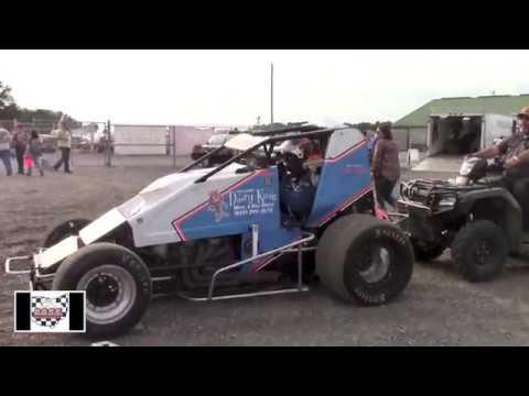 BOSS at Waynesfield Raceway Park 8-5-17