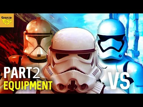 FIRST ORDER VS CLONE TROOPERS VS STORMTROOPERS (ARMOR, WEAPONS & VEHICLES) PART 2