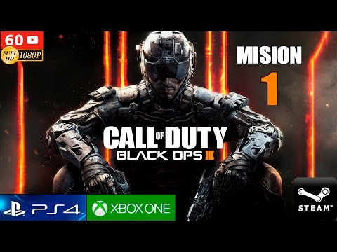 Call of Duty Black Ops 3 Mision 1 en Español Gameplay PC 108