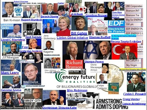 Richard Branson EDF INC, Pr  Bush, Obama, Brown & Blair, Clinton Fdn, B Moon UN, ERDOGAN ISLAm $$$$,