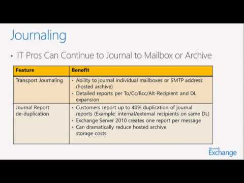 Office 365 Administration - 09 - Exchange Online Protection, Archiving and  Compliance