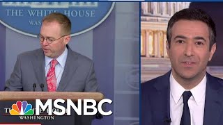 Breaking: Trump Aide Caves In Impeachment Suit Against Trump | The Beat With Ari Melber | MSNBC