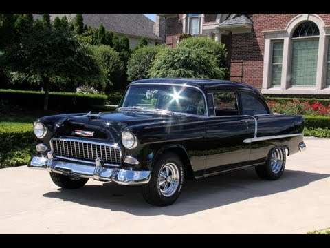 1955 Chevy Bel Air Tpi Classic Muscle Car For Sale In Mi Vanguard