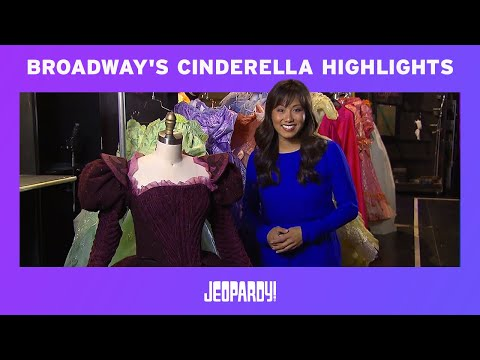 Take another look behind the scenes at Broadway's Cinderella!   Jeopardy!