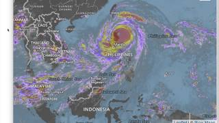Typhoon Mangkhut / Ompong as of 630AM (MNL) Sept 15 - During Landfall
