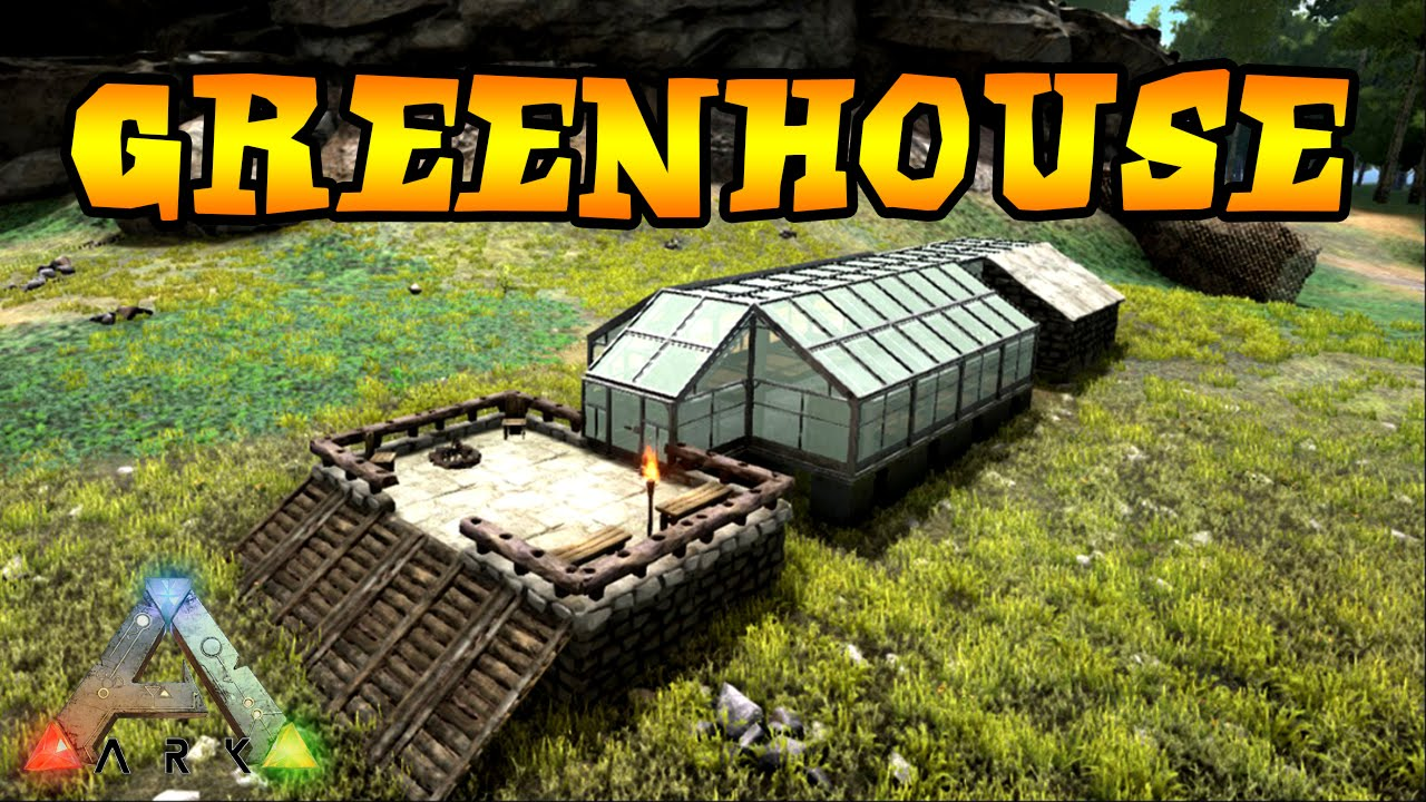 Ark survival evolved surviving the ark greenhouse build s3e3 ark survival evolved surviving the ark greenhouse build s3e3 youtube malvernweather Image collections