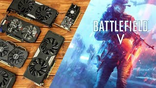 Battlefield 5 Benchmarks With Budget Graphics Cards!