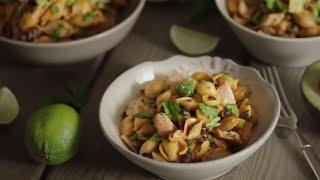 how to make fajita pork chipotle pasta   an original knorr recipe