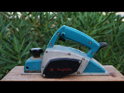 Repair and refresh 30 Year Old Hand Wood Planer - Electric Plane Makita