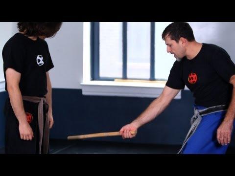 How to Defend against a Low Side Stick | Krav Maga Defense