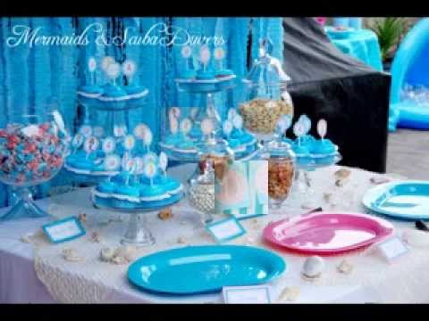 DIY Little Mermaid Birthday Party Decorating Ideas YouTube