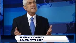 CALLEJAS: ¨LAS PENAS PARA LOS CORRUPTOS SE DEBEN ENDURECER¨