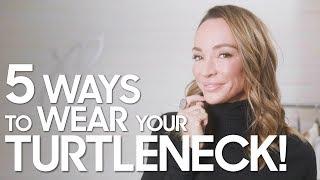 5 Ways to Wear Your Turtleneck