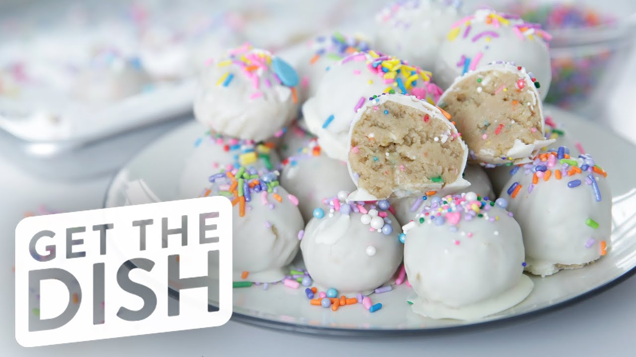 No Bake Birthday Cake Oreo Truffles With Gemma Stafford