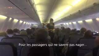Pas de stress dans cet avion :-)