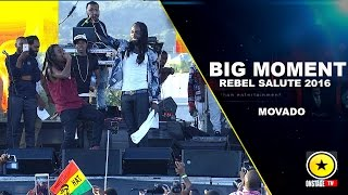 Mavado As David Brooks - Rebel Salute 2016