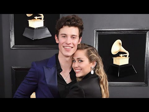 Shawn Mendes answers the question about Miley Cyrus and their new single at GRAMMYs 2019 Red Carpet