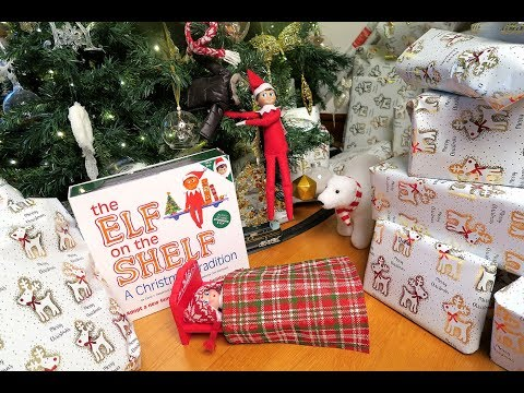 Elf on The Shelf brought a bed from the North Pole