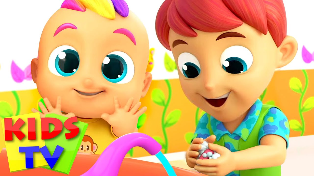 Wash Your Hands Song | Healthy Habits for Children + More Nursery Rhymes & Baby Songs by Kids Tv