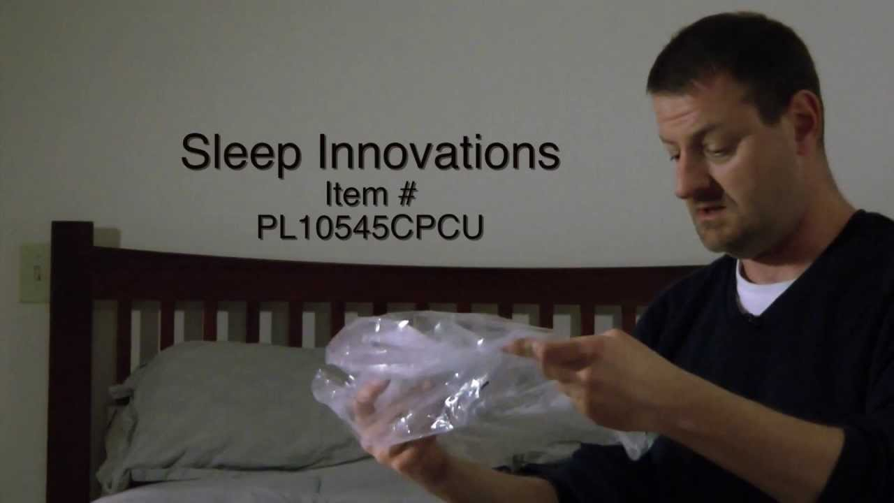Sleep Innovations memory foam pillow review  YouTube
