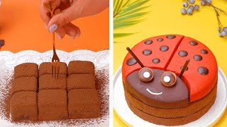 How To Make Perfect Chocolate Cake For Your Family | So Yummy Cake Decorating Ideas | Tasty Plus