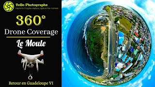 360° Drone Coverage | Le Moule, Guadeloupe 🌐