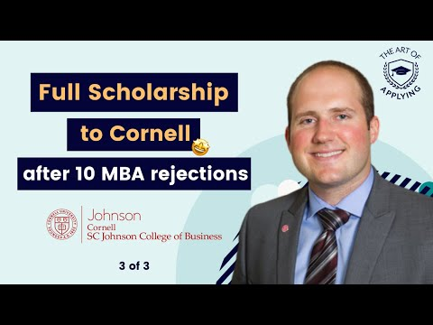 From 10 MBA Dings to a Full Ride at Cornell (pt. 3/3)