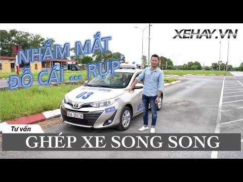 MẸO THI BẰNG LÁI B1: Ghép xe SONG SONG - nhắm mắt cũng làm đúng |XEHAY.VN|
