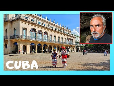 CUBA: The OLDEST SQUARE in HAVANA, historic PLAZA DE ARMAS