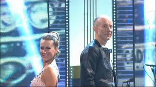 Ingemar Stenmark och Cecilia Ehrling - quickstep - Let's Dance (TV4)